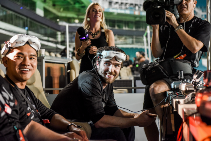 FPV Drone Racing combines virtual reality with racing.