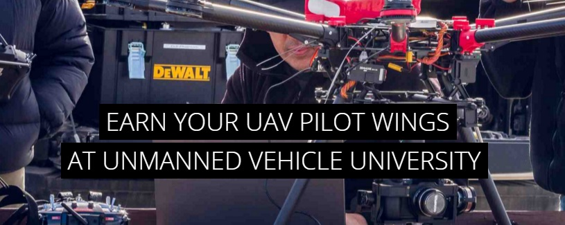 unmanned vehicle university drone school