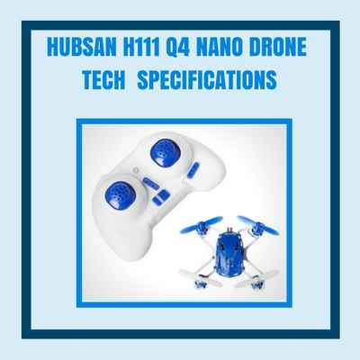 hubsan-h111-tech-specifications