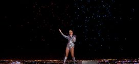 Over 300 Drones at Lady Gaga's Performance in Super Bowl