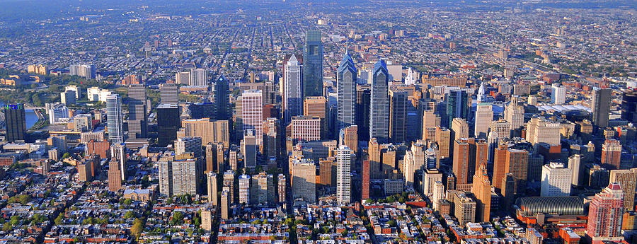 Aerial Photography Philadelphia Pennsylvania
