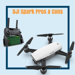 dji spark drone reviews pros and cons
